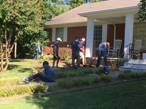 McCracken County United Way Community Work Day 2016
